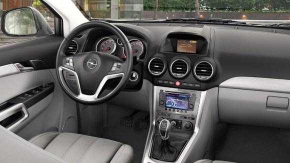 Opel Antara 2014 3 interior