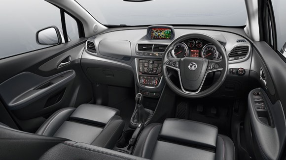 Vauxhall Mokka 2014 SE interior