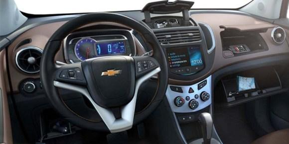 Chevrolet Trax 2014 interior