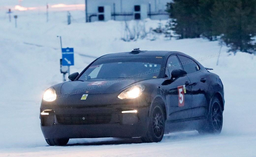 2017 Porsche Cayenne Coupe Electric SUV Preview