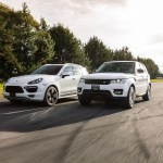 2016 Porsche Cayenne Turbo vs 2016 Range Rover Sport