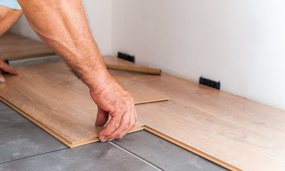 to install lifeproof vinyl plank flooring