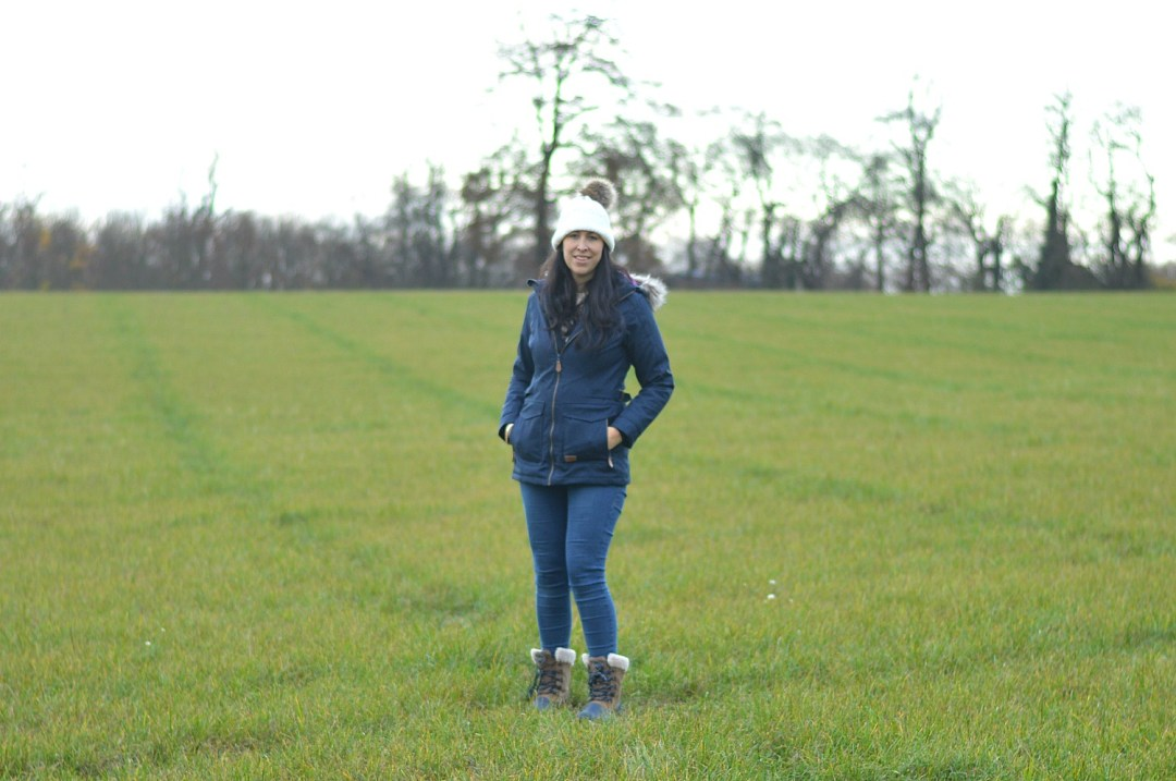 Walking in the countryside