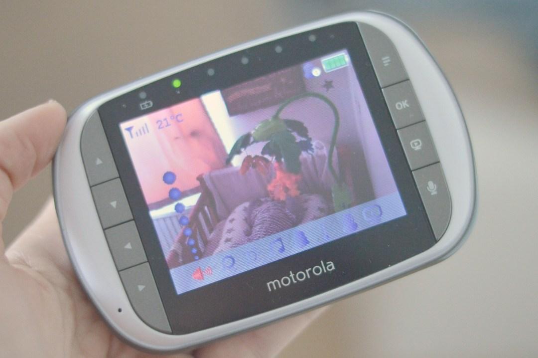 Motorola MBP853 Connect Baby Monitor camera system monitor