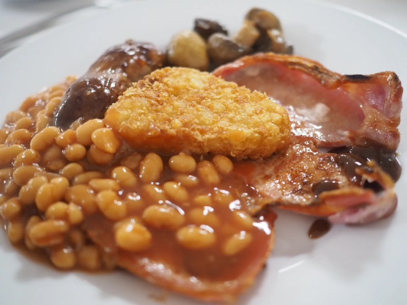 What Lizzy Loves full English breakfast bank hall hotel worcester