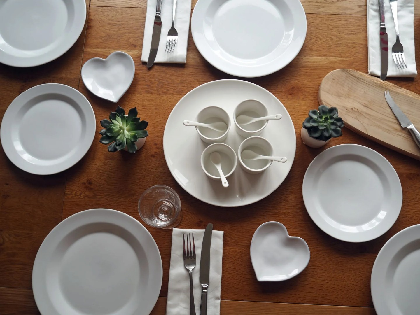 white-table-setting-james-martin-denby-dip-dishes-ramekin-heart-shaped-plates-white-company