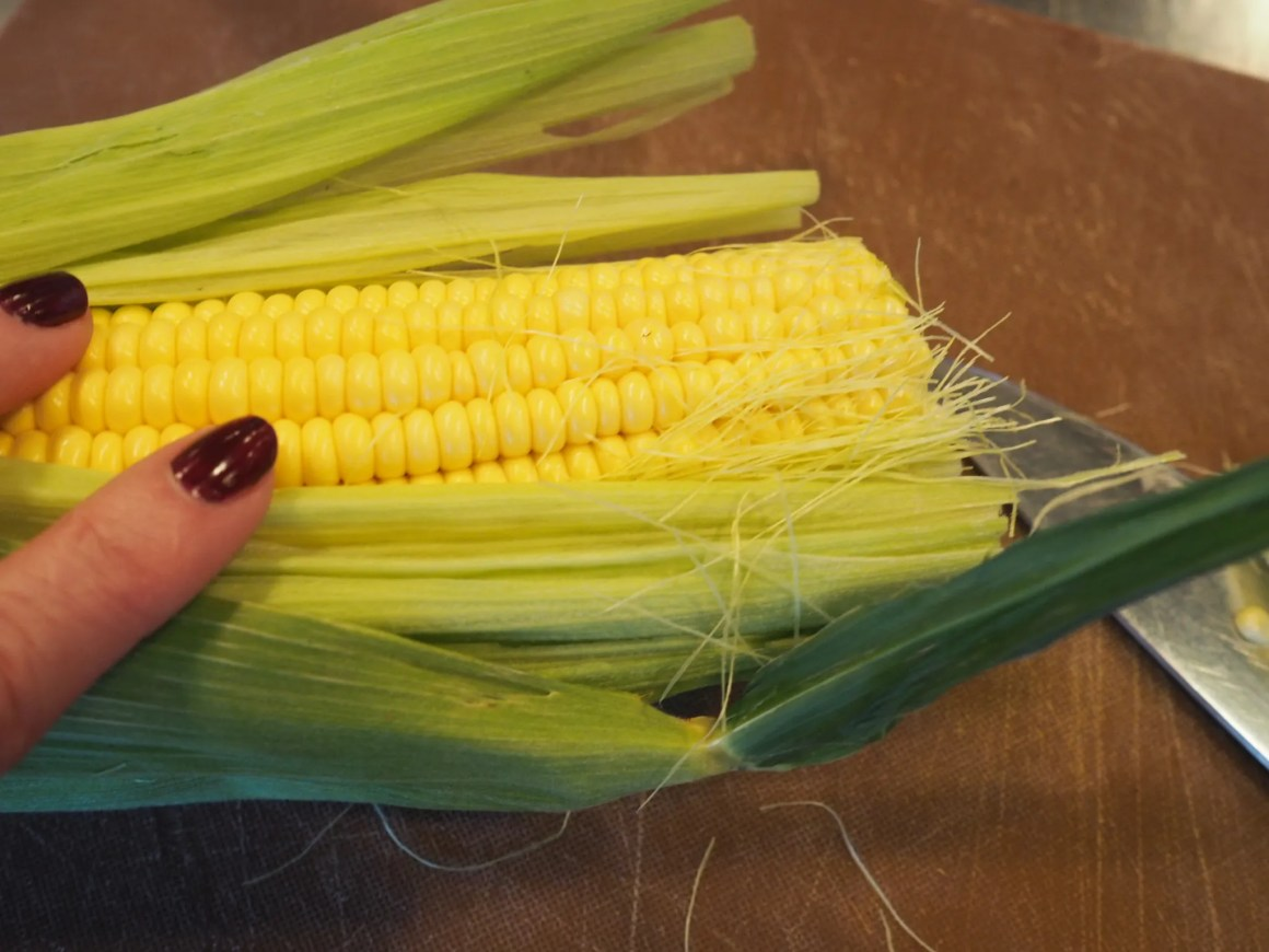 what-lizzy-loves-River-Cottage-cookery-lesson-chef-sweetcorn-polenta