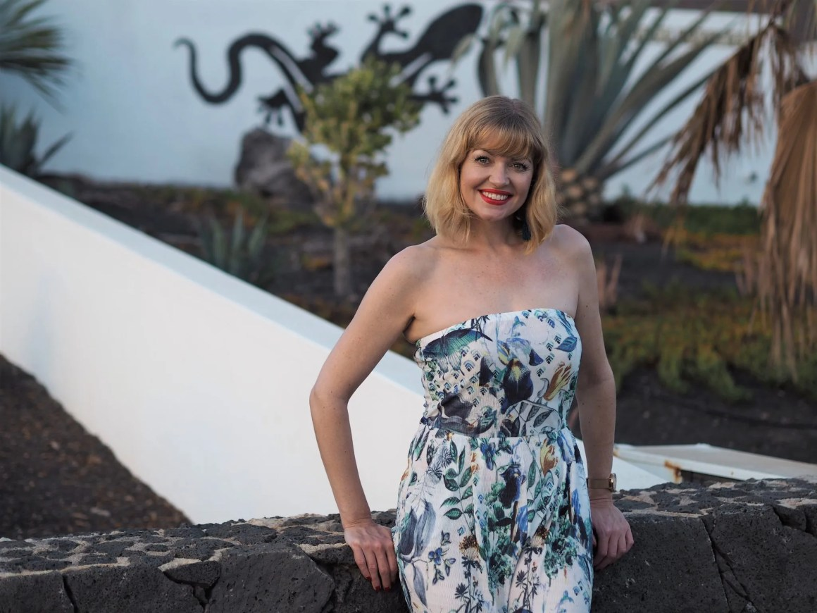 what lizzy loves floral jumpsuit cullottes Lanzarote