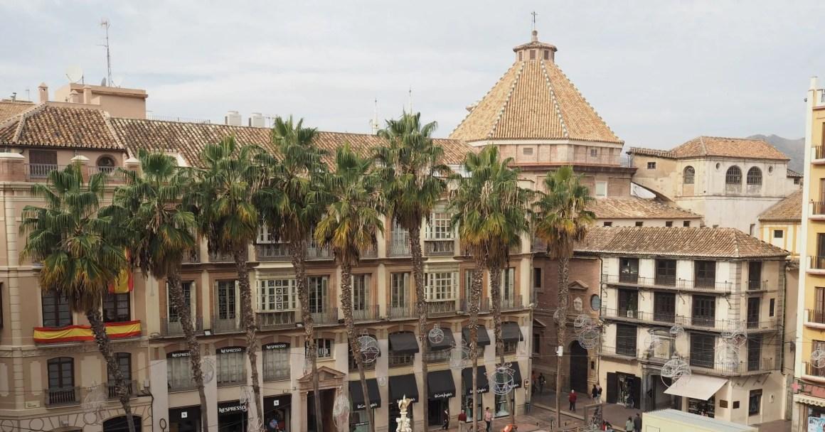 What Lizzy Loves Malaga in November plaza de la constitucion
