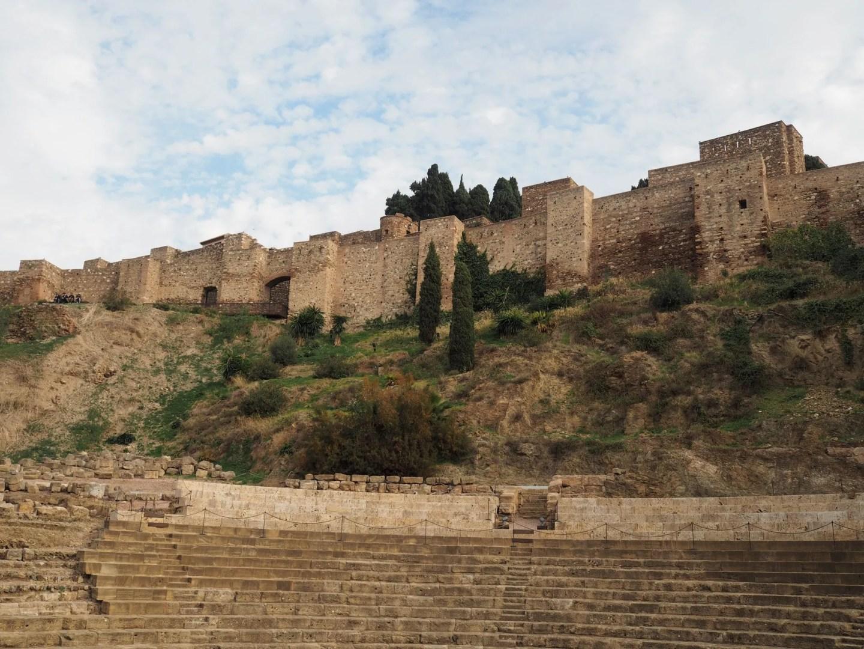 What Lizzy Loves Malaga in November Roman amphitheatre
