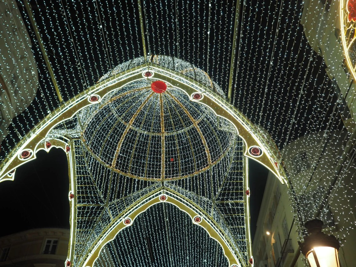 What Lizzy Loves malaga Christmas lights 2017