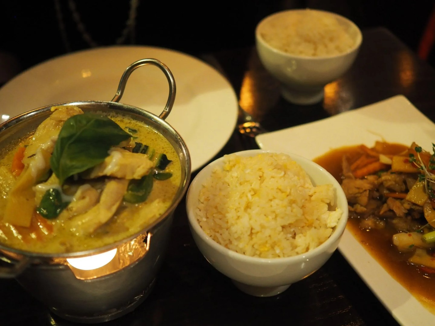 What Lizzy Loves Sukhothai restaurant review Leeds, green chicken curry