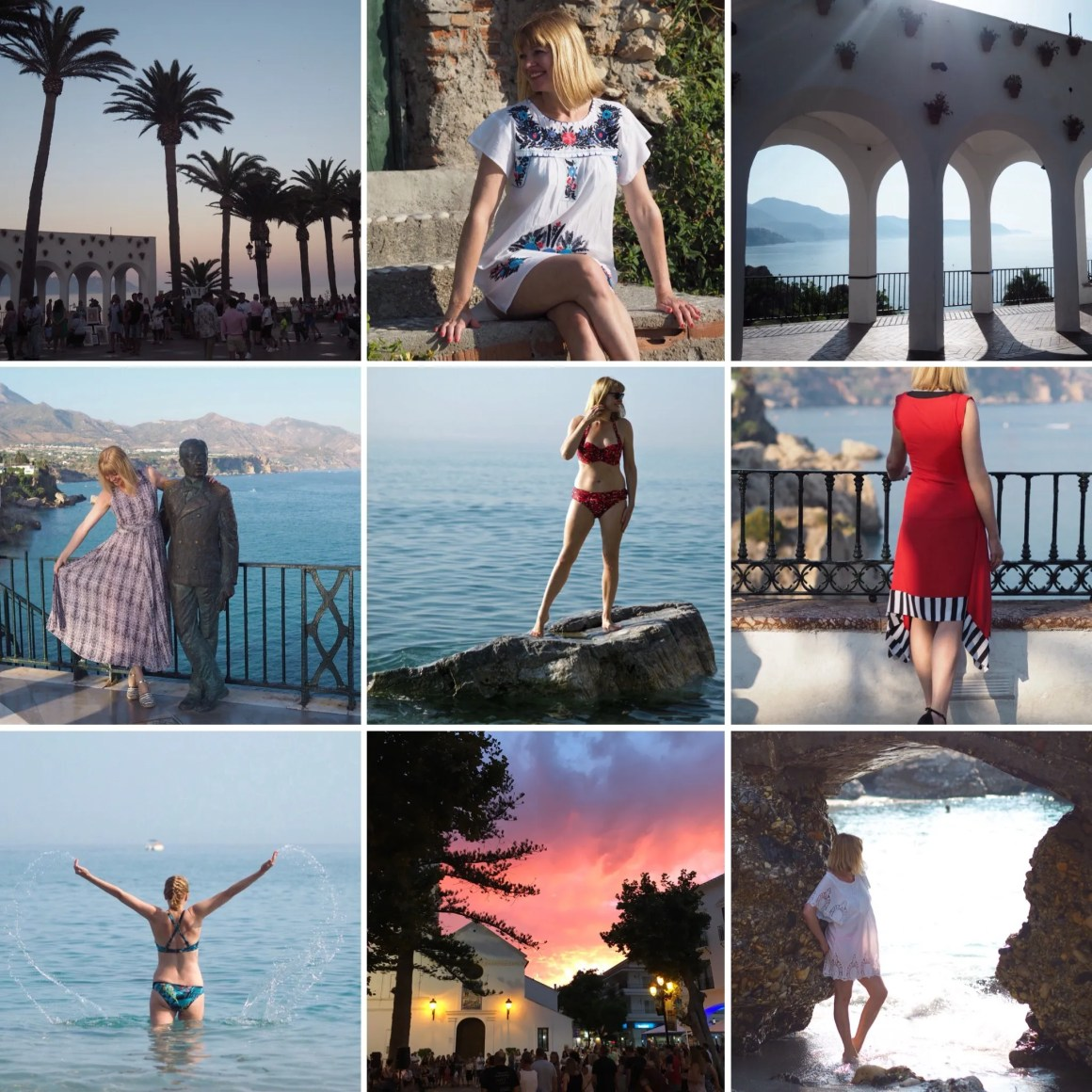 what lizzy loves holiday to Nerja