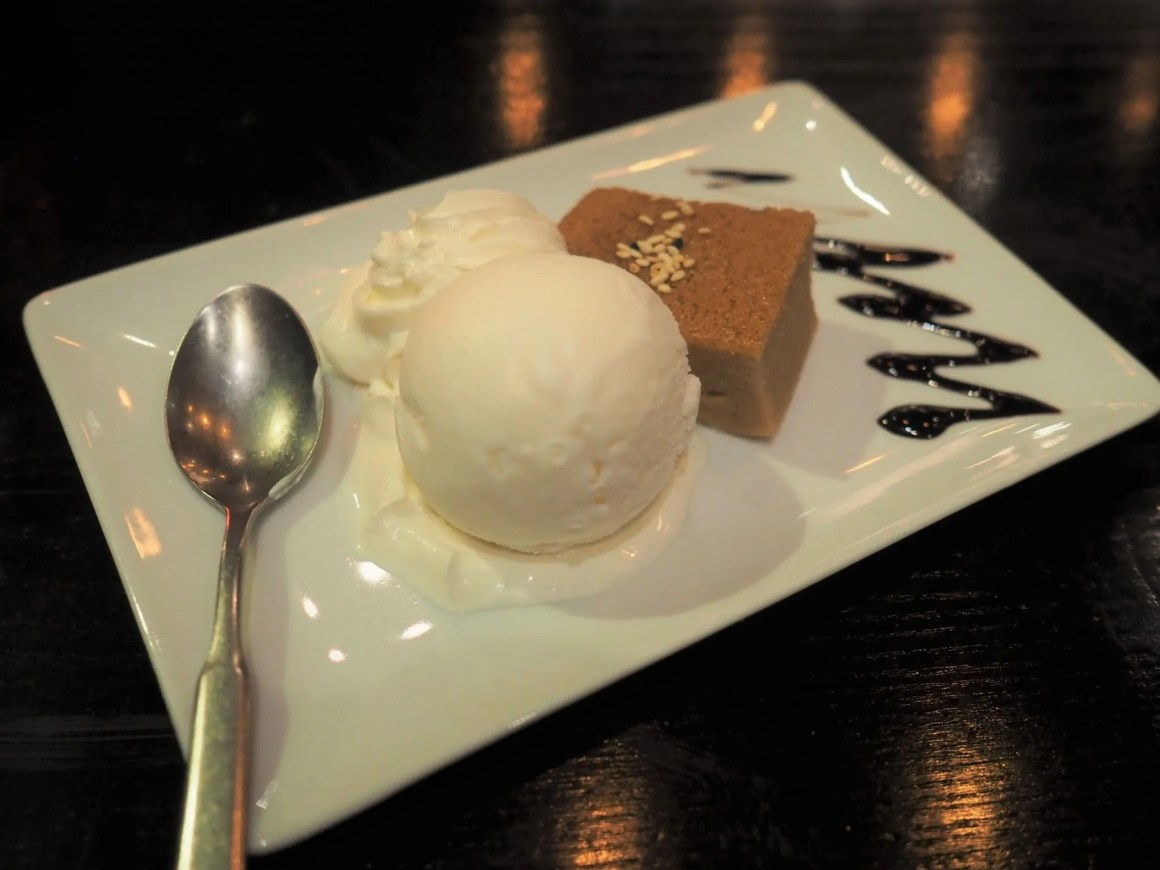 What Lizzy Loves Sukhothai restaurant review Leeds, Thai custard dessert