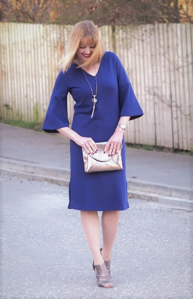 what lizzy loves ultra violet dress