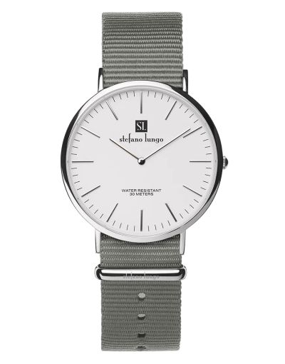 Stefano Lungo watch, dusty olive
