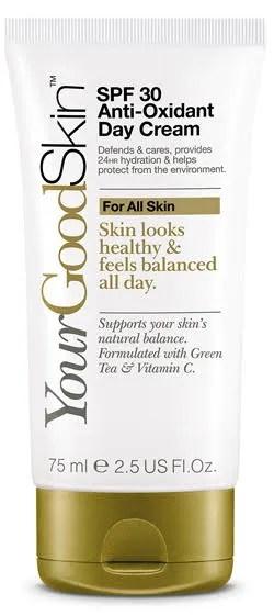 Anti-oxidant day cream