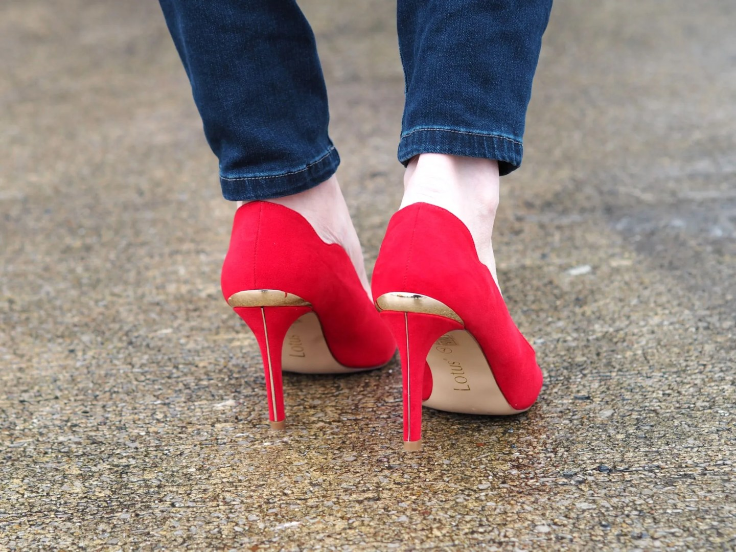 what-lizzy-loves-red-Lotus-court-shoes-gold-detail-Mother's Day