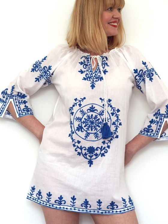 what Lizzy Loves Aspiga bach kaftan holiday wardrobe