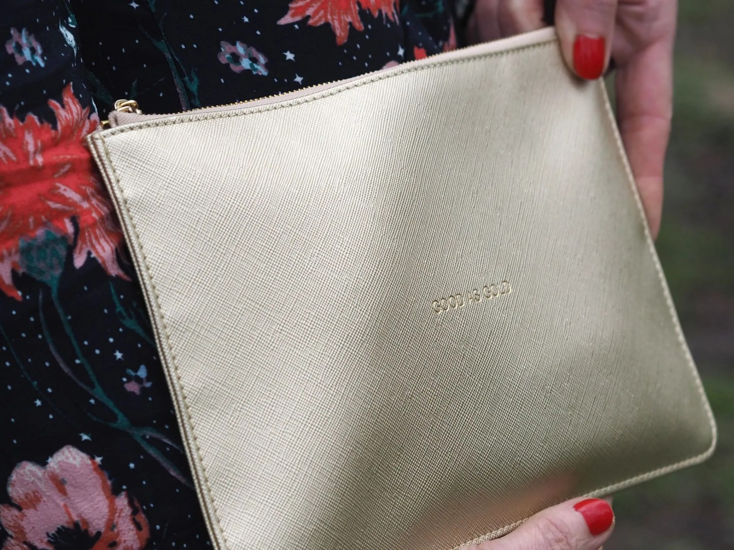 what lizzy loves katie Loxton Good as Gold pouch