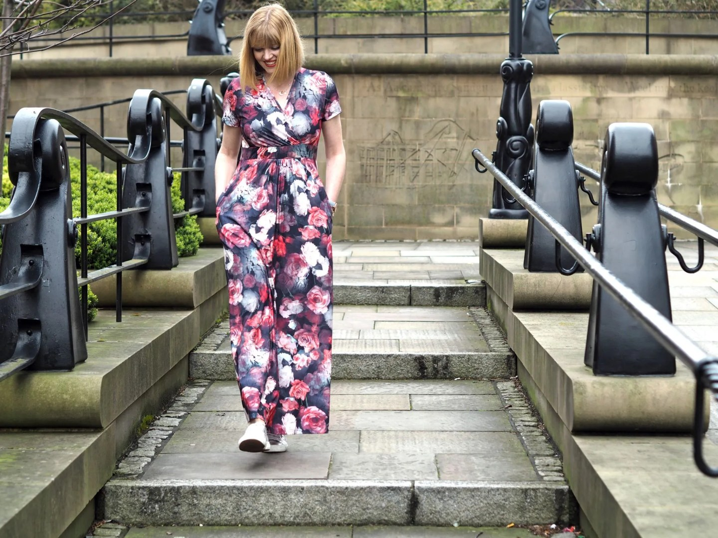 what Lizzy Loves floral maxi dress Newcastle