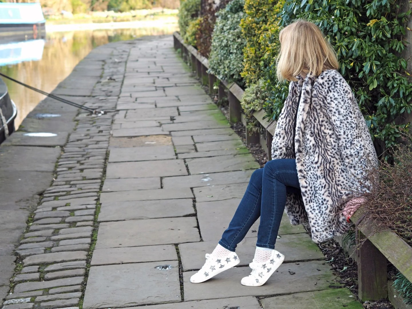 what lizzy loves star glitter trainers leopard coat