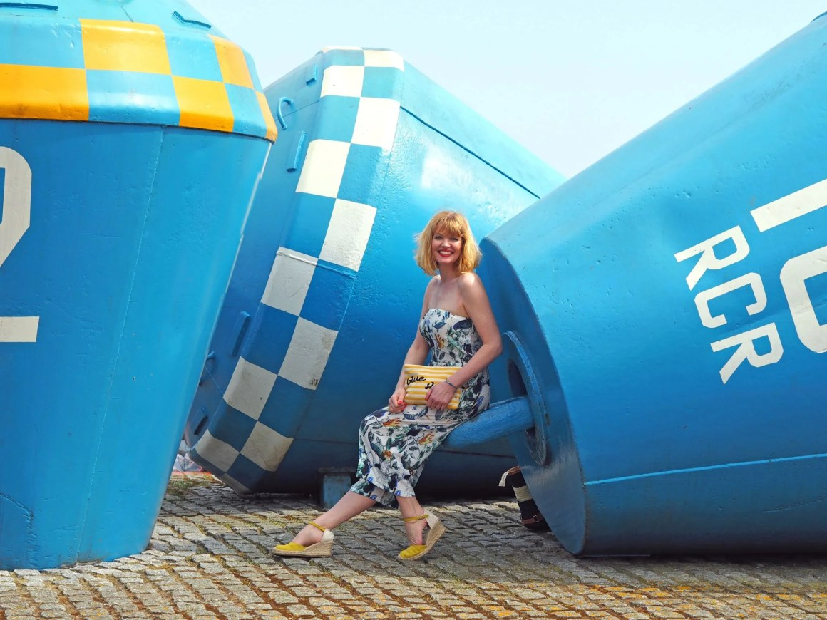 what lizzy loves floral jumpsuit buoys north shields