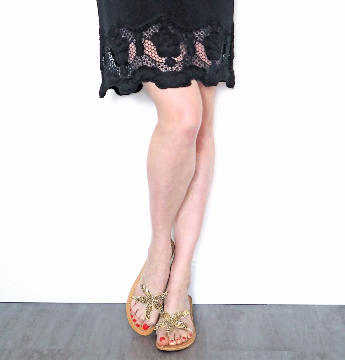 what Lizzy <oves aspiga starfish sandals