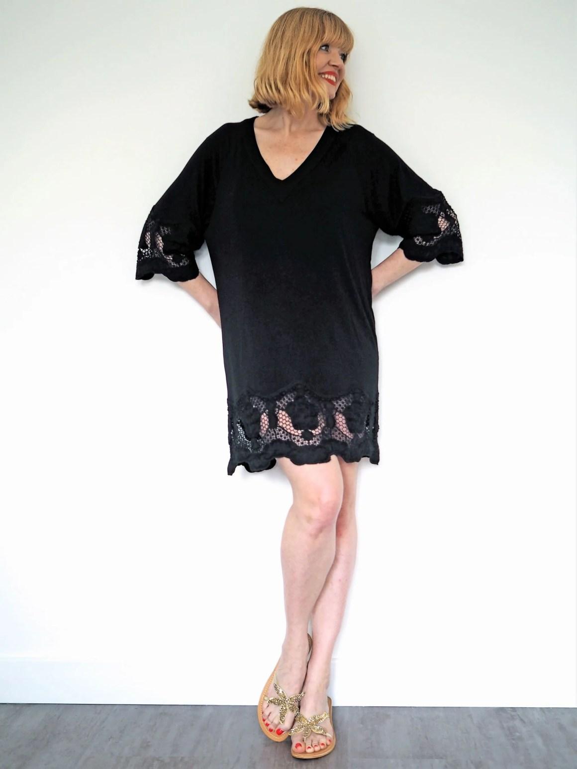 what lizzy loves Fantasie Dione kaftan neutral holiday wardrobe