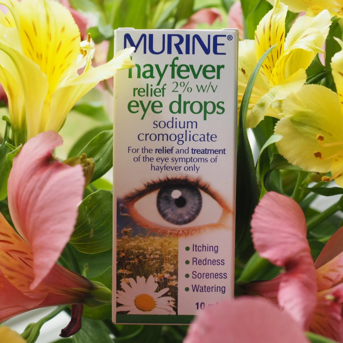 Eyedrops for itchy hay fever eyes