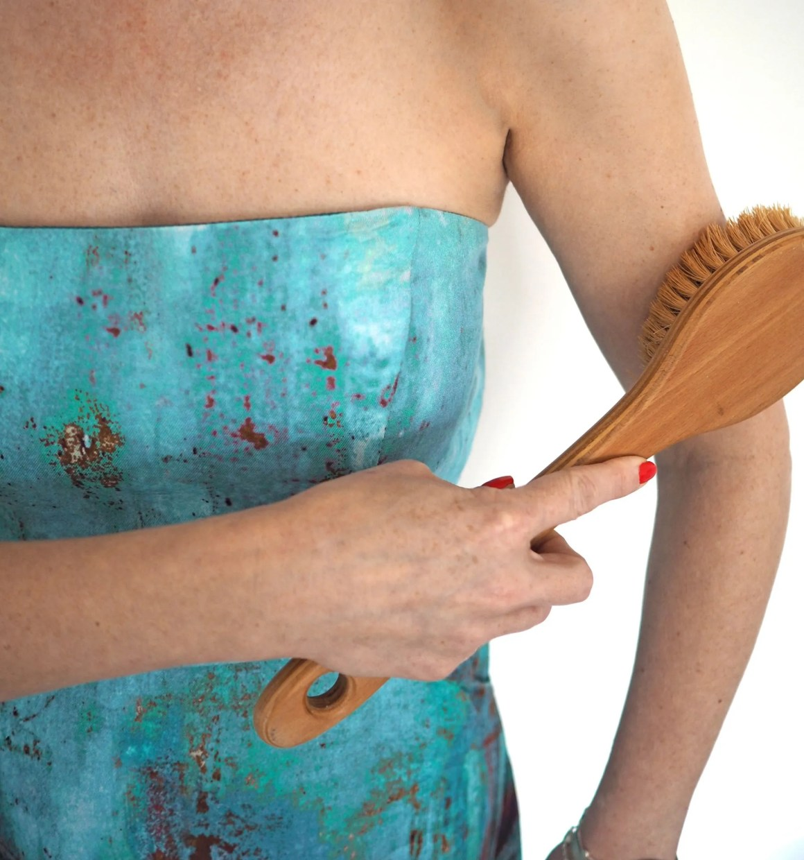 body brushing arms