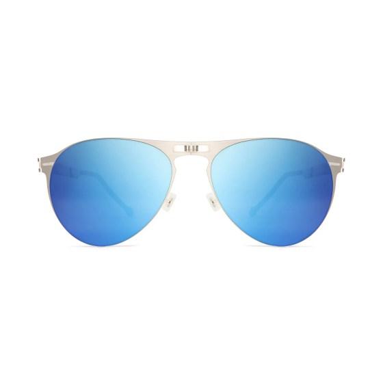 ROAV eyewear Earhart silver blue