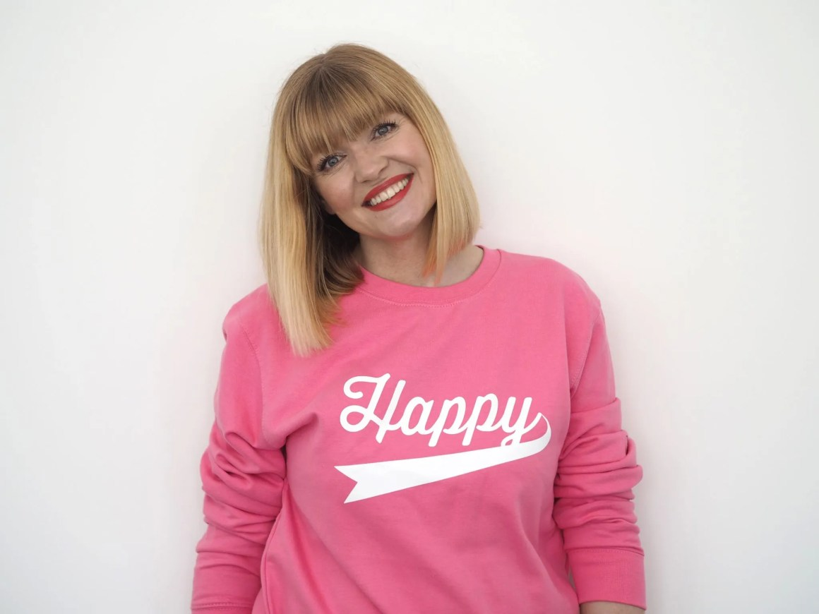 what lizzy loves happy sweatshirt