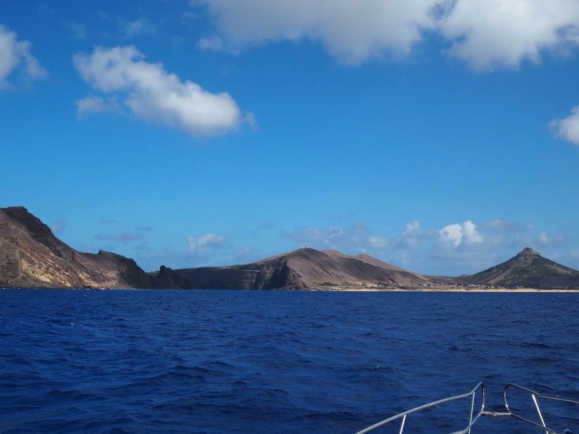 Views of Porto Santo yacht trip