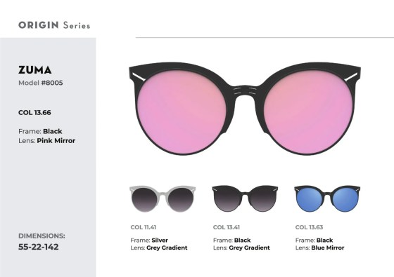 ROAV eyewear Zuma