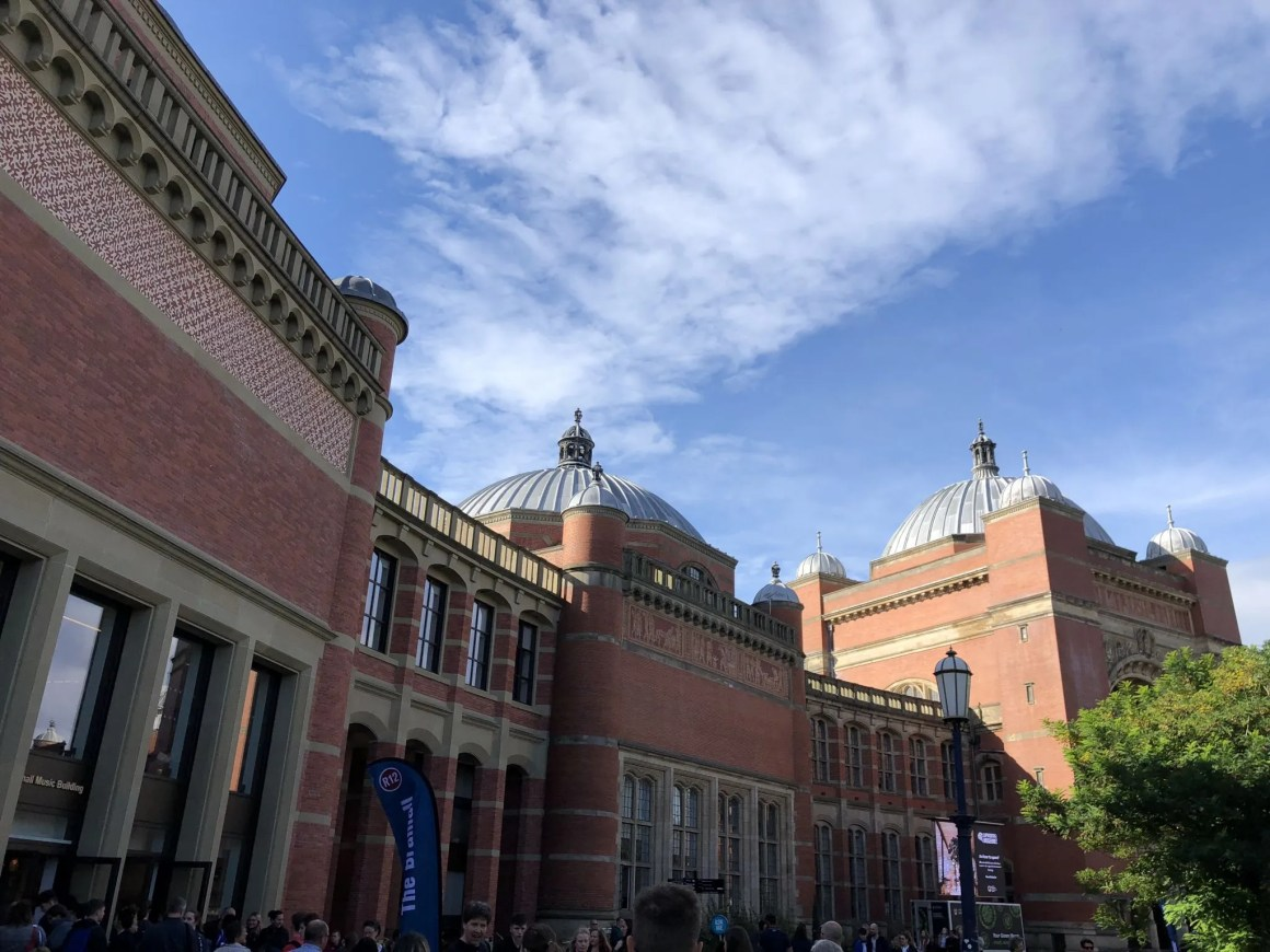 campus Birmingham university open day