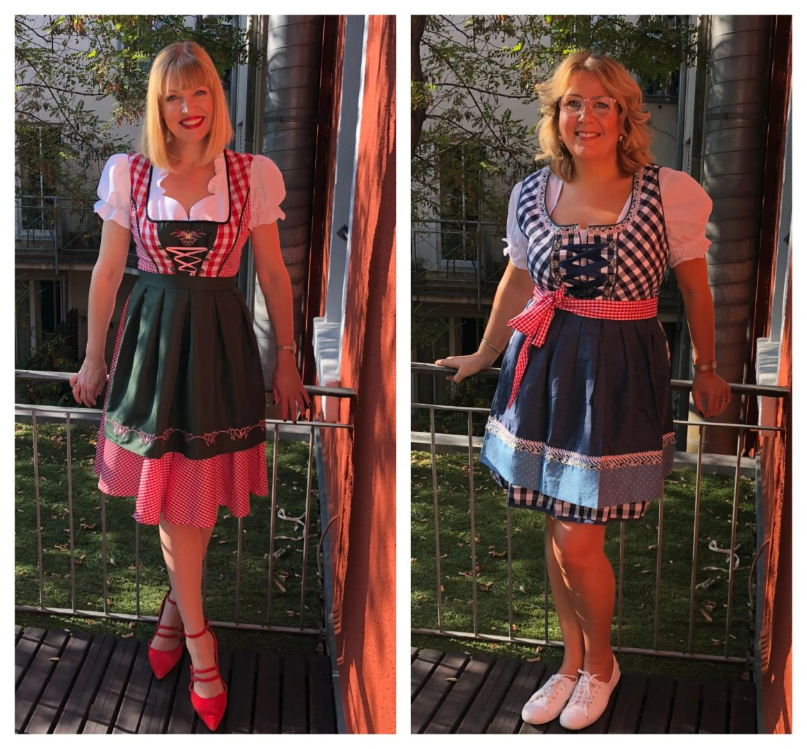 what lizzy loves stuttgart beer festival dirndls