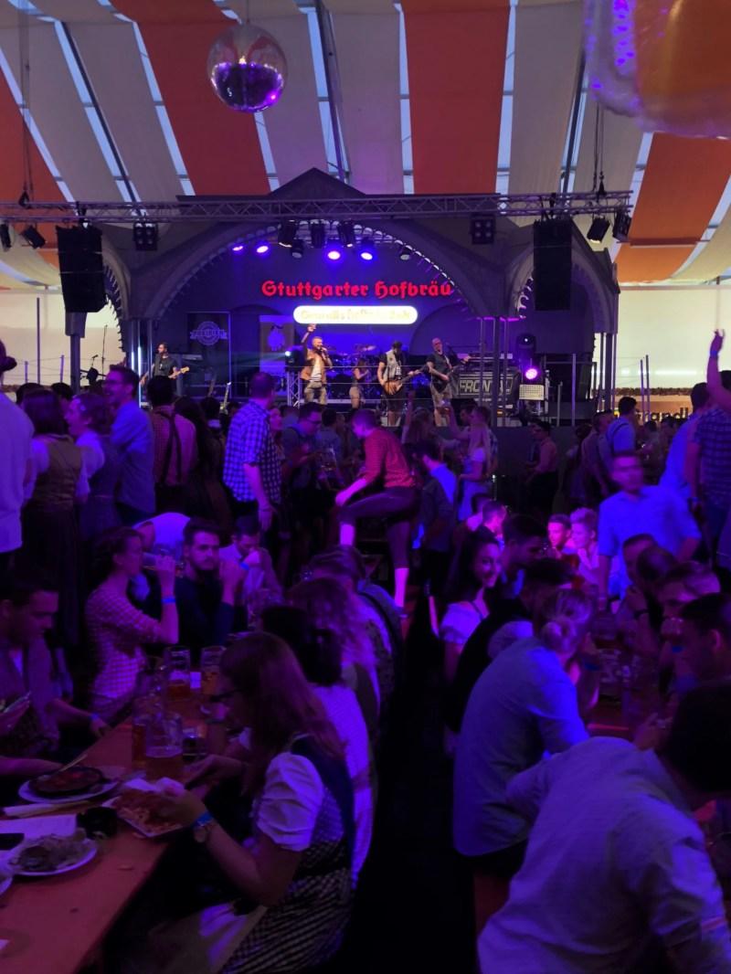 inside stuttgart beer festival