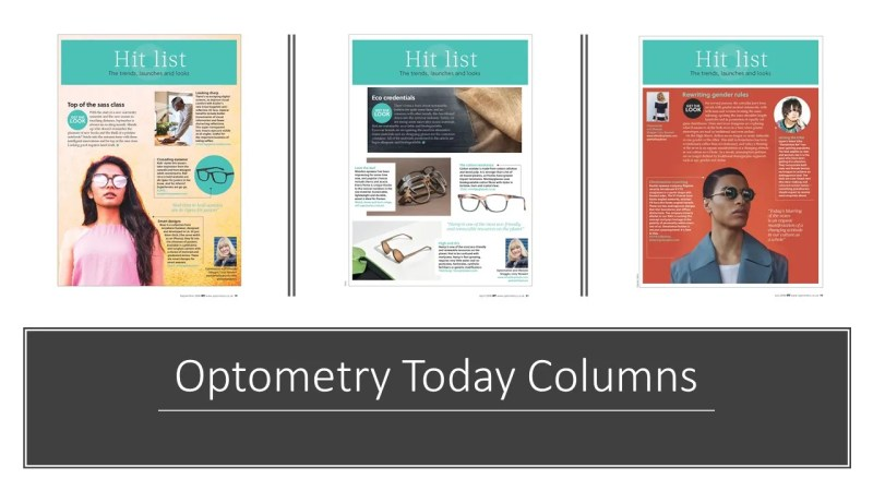 Optometry Today Columns