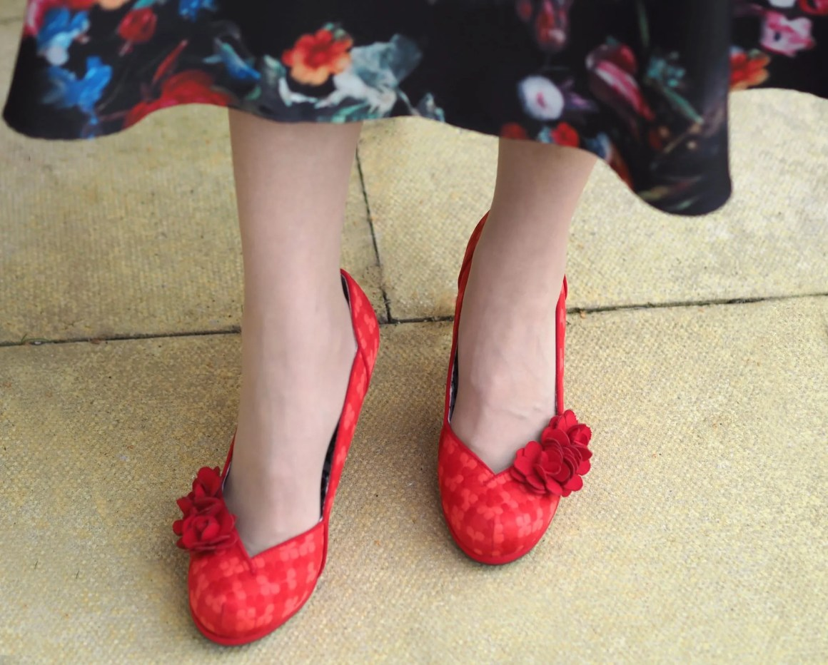 Rooby shoos red charlotte
