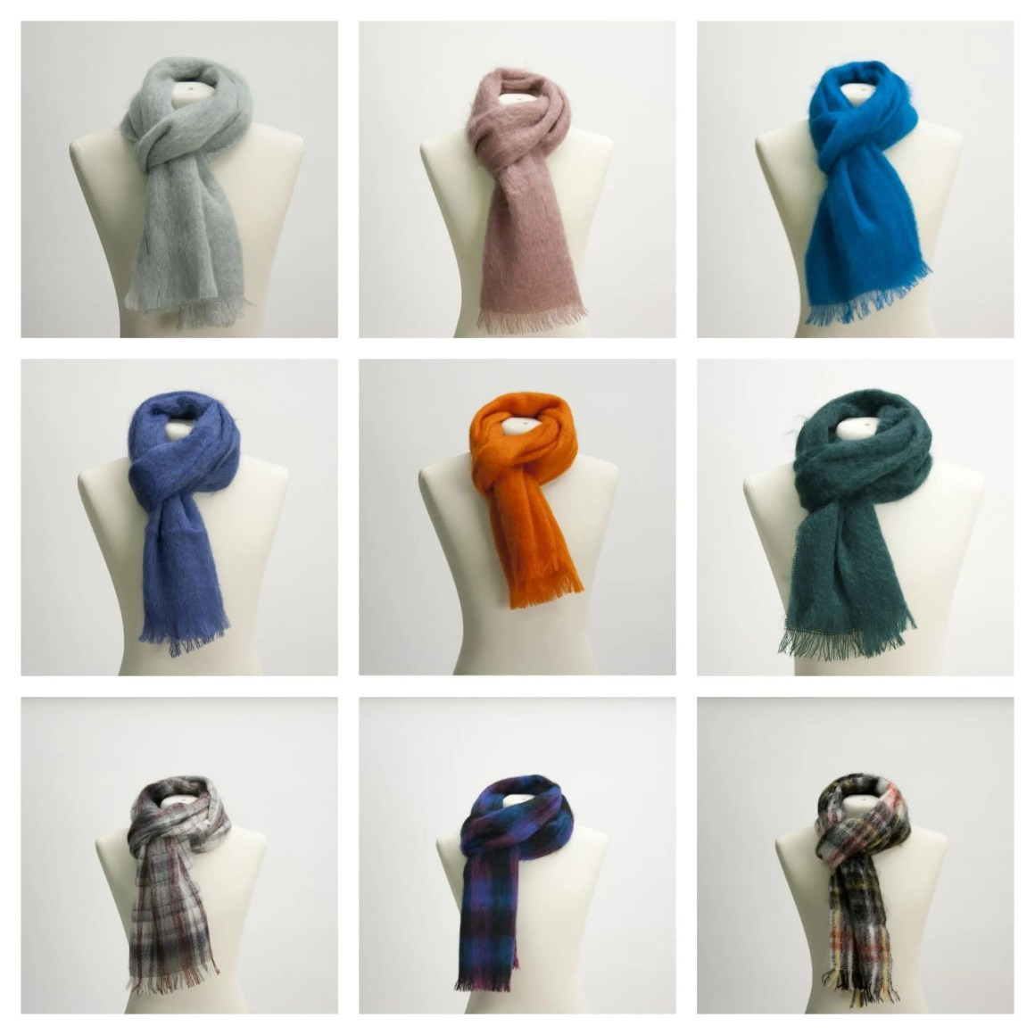 Christmas gift ideas from Yorkshire Samuel tweed scarves