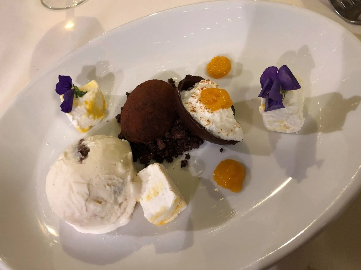 Le Caveau cream egg truffle