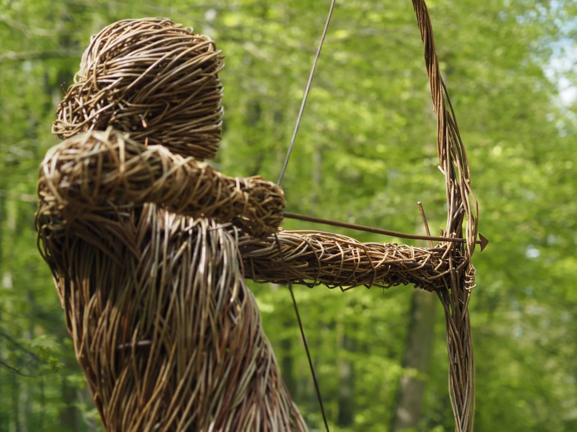Skipton Castle Woods Spirit Of The Medieval Archer