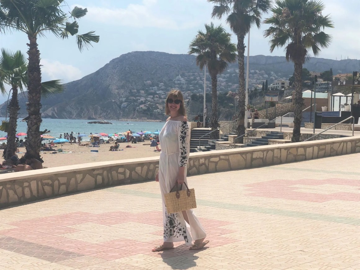 calpe seafront