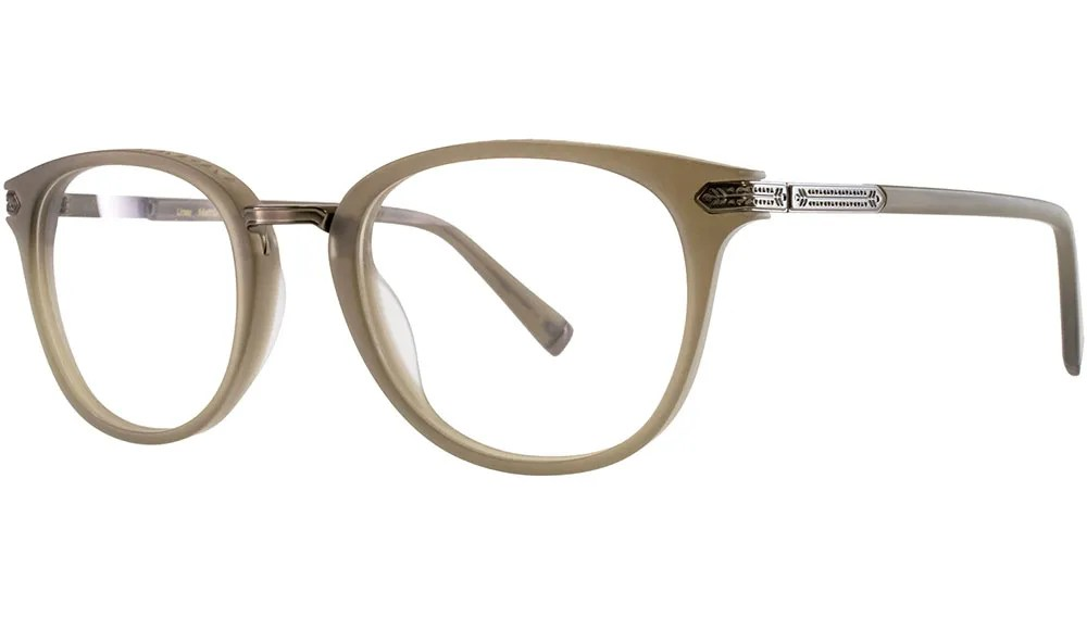 khaki spectacle frame by Kata eyewear