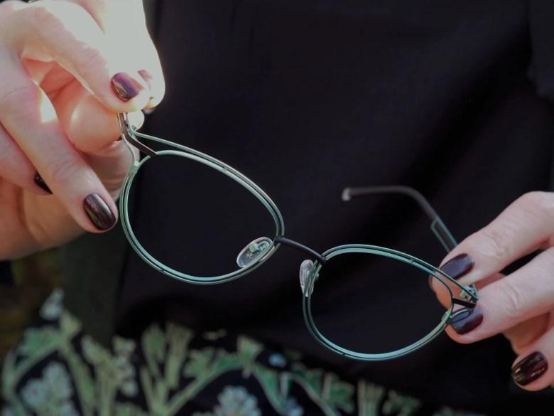 stepper blue and green eyewear