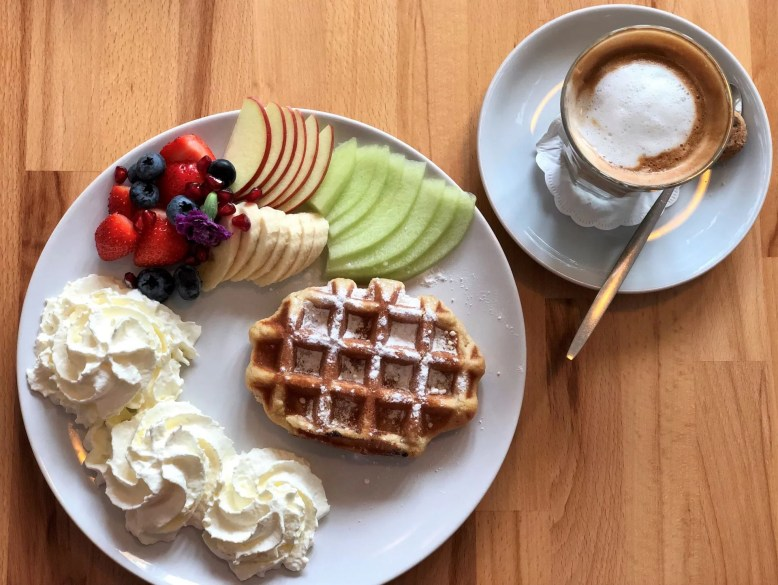 waffles and pancakes in Amsterdam