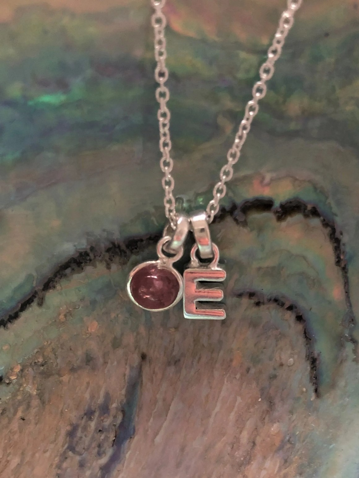hersey and son silver charm necklace