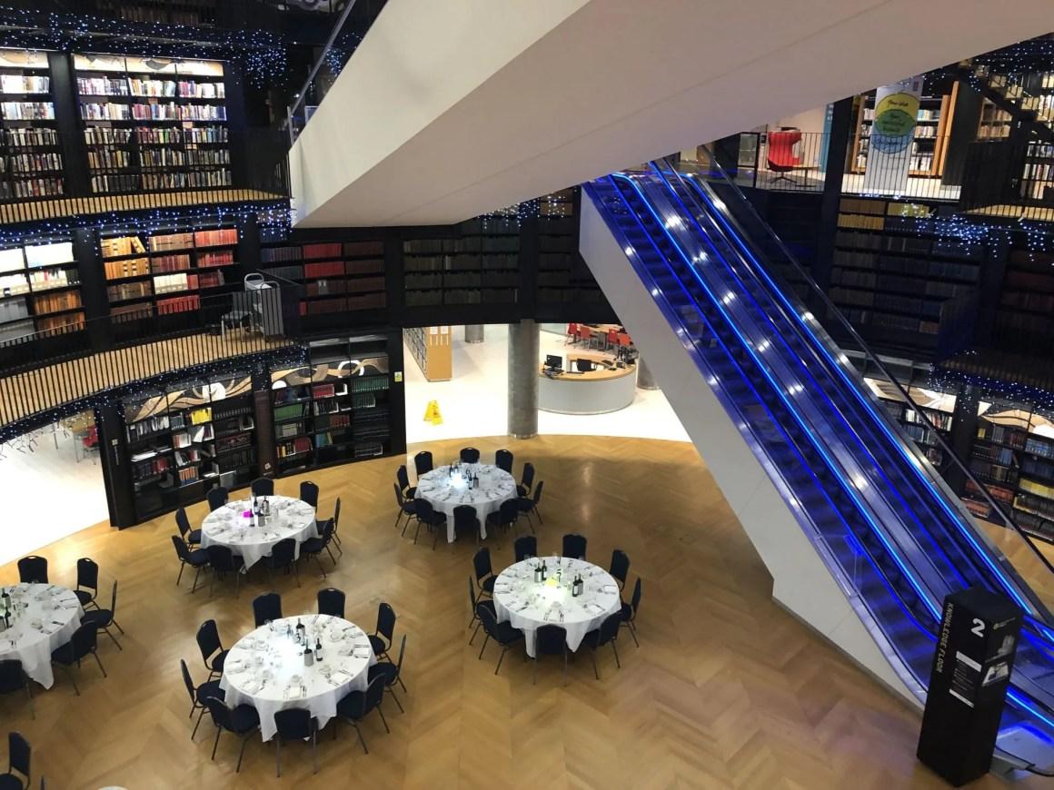 The Book Rotunda, Birmingham, essilor Acadamy