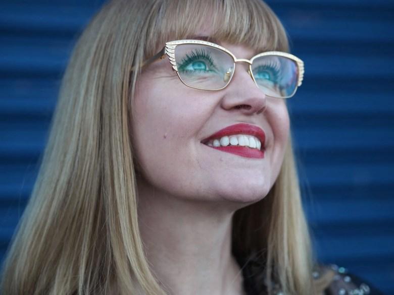 modern metallic eyewear